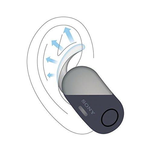 Sony WF-SP700N True Sport Kopfhörer (Wireless, Noise Cancelling) schwarz, mit Alexa-Integration
