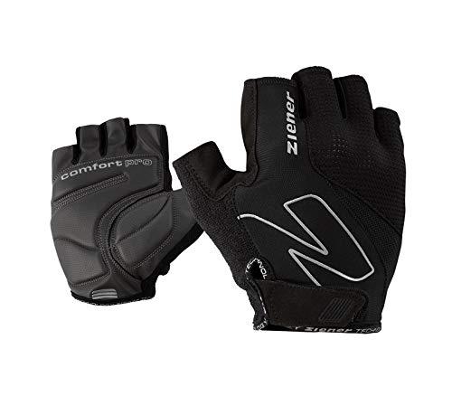 Ziener Erwachsene CRAVE Fahrrad-, Mountainbike-, Radsport-handschuhe | Kurzfinger - atmungsaktiv/dämpfend, black, 8,5