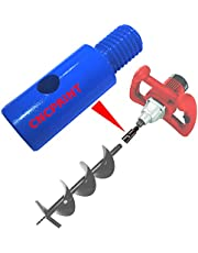 CNCPRINT Adapter voor grondboor geschikt voor M14 handroerapparaten mixer roerapparaat roerapparaat