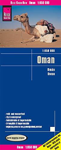 Reise Know-How Landkarte Oman (1:850.000) reiß- und wasserfest: world mapping project