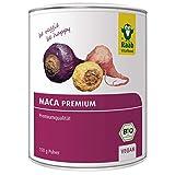 Raab Vitalfood Bio Premium Maca-Pulver; Maca-Wurzeln aus den Anden aus Peru, mit Glucosinolaten, hergestellt & laborgeprüft in Deutschland (150 g)