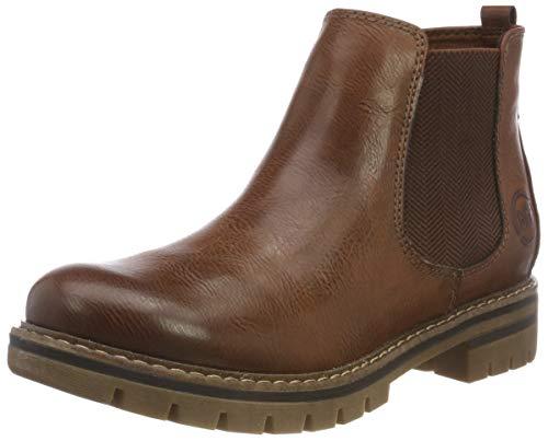 MARCO TOZZI Damen 26425-21 Chelsea Boots, Braun (Cognac Antic 310), 40 EU