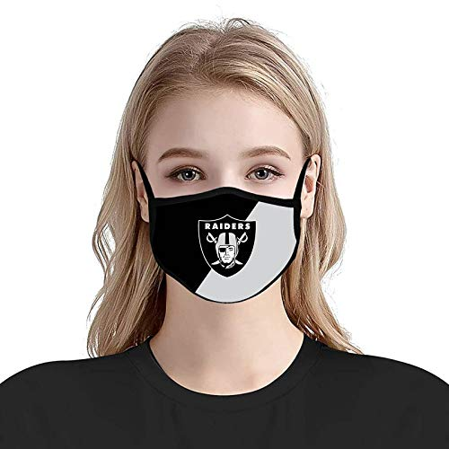 Football Reusable Face Mouth C_over Washable Cloth Face Madk with Adjustable Ear Loops for Men Women - 2