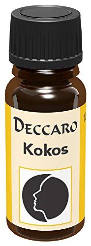 "DECCARO Huile aromatique ""noix de coco"", 10 ml (huile de parfum)"