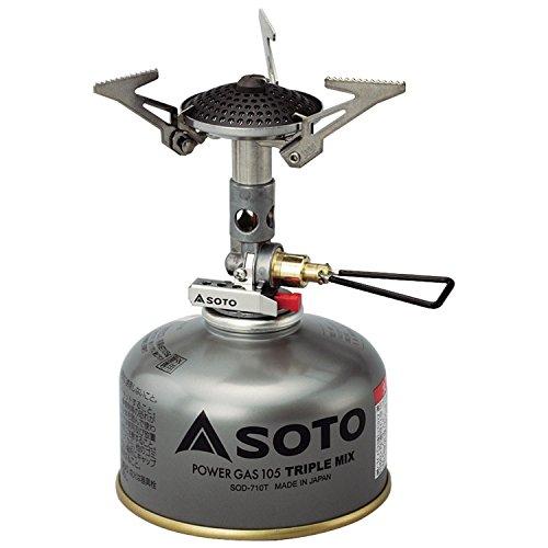 ソト(SOTO) マイクロレギュレーターストーブ SOD-300S キャンプストーブ OD缶用 シングルバーナー キャンプ...