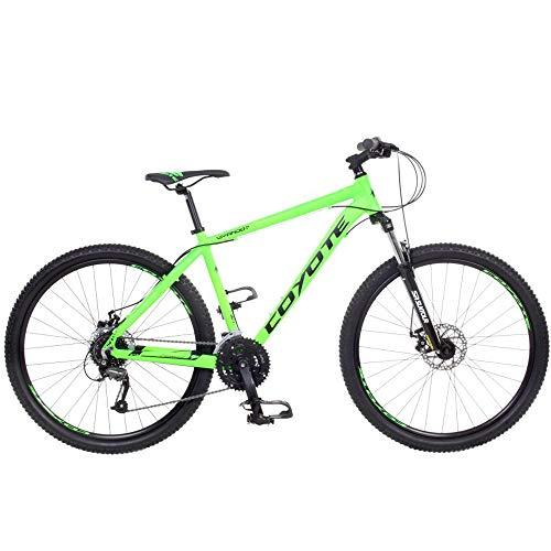 Galano Mountainbike 27,5 Zoll Hardtail MTB Fahrrad Wyandot 650B 27 Gang Bike (Coyote grün, 46 cm)