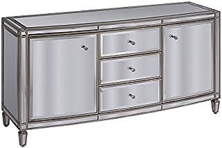 My-Furniture Antoinette Aparador con Espejo Envejecido