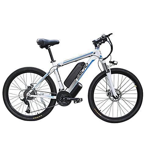 GEETAC Bycicles eléctricos para hombres, 26\