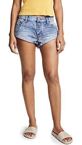 One Teaspoon Women's Bandit Shorts, Cobaine, 29