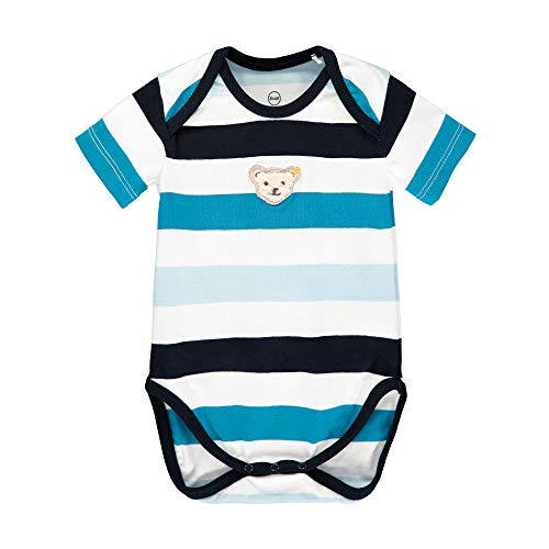 Steiff Body Shaping, Azul (Black Iris 3032), 62 (Talla del Fabricante: 062) para Bebés