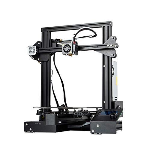 DM-DYJ Imprimante 3D Industrielle, Ender-3S Éducation DIY Enfant École Haute Précision, FDM