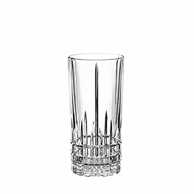 Drinking Glass Set, Spiegelau 12.3 Oz Perfect Longdrink Clear Glass Set, 4 Piece