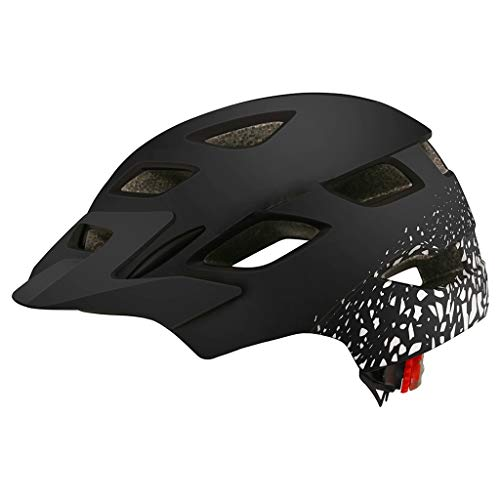 FREEDOH Adult Bicycle Helmet, Impact Resistance Children Skateboard Helmet, 6 Colors Available, 16 Hole Breathable Design, Cool and Comfortable, for Skateboarding, Skating, and Bicycle,Black Silver