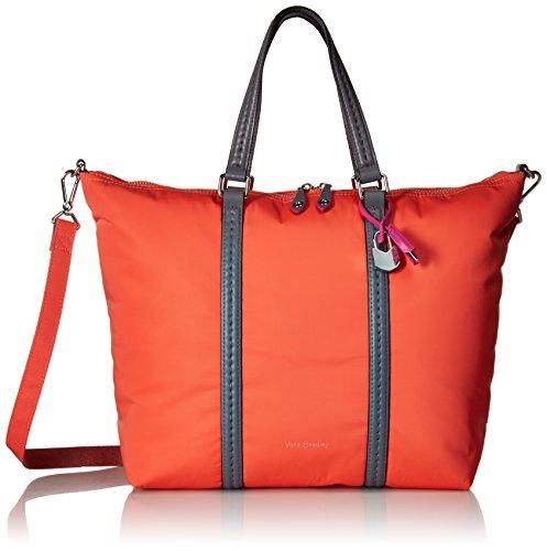 Vera Bradley Women's Midtown Small Tote Bag, Coral Reef