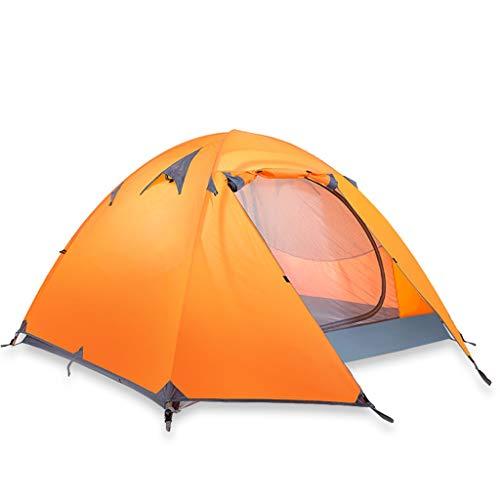 2 Person Kuppelzelt, Einfach Eingerichtet, Großes Wasserdicht Winddichtes Strandzelt, Für Camping, Rucksack, Wandern, Multifunktionsabnehmbares Angelzelt (Color : Blue, Size : 210 * 180 * 120cm)