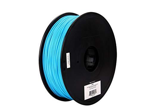 Monoprice MP Select PLA Plus + Premium 3D Filament - Hellblau, 1 kg/Spule, Dicke 1,75 mm, PLA Plus + ist stärker als gewöhnliches PLA