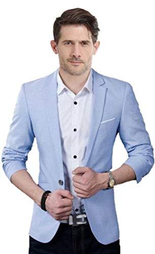 One Click Men's Slim Fit Blazer