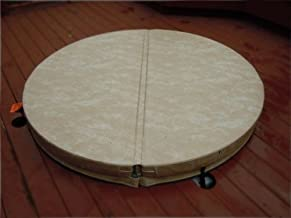 BeyondNice 76in Round Hot Tub Covers - Spa Covers - Replace Your Heavy, Old Cover
