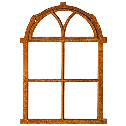 aubaho Nostalgie Stallfenster 54x77cm Klappe Eisenfenster Rahmen rostig Antik-Stil