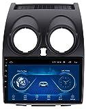 Android 8.1 9 Pulgadas Radio de automóvil Estéreo Navegador MP5 Reproductor de MP5 para Nissan Qashqai 2006-2013 GPS Radio Stereo 2.5D Pantalla táctil, WiFi Reversing