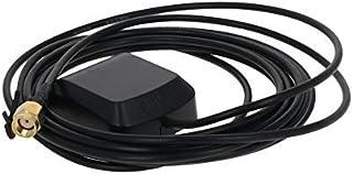 DealMux Antena Activa de GPS SMA Hembra 3M, 27dB LNA Ganancia 1575.42MHz Señal de GPS de Antena Activa más Fuerte