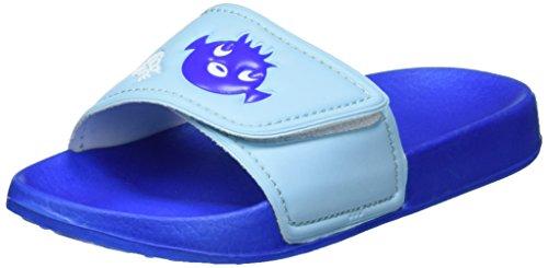 Beco Kinder-Pantoletten Sealife, blau, 25/26