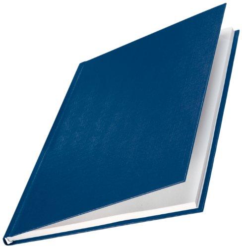 Leitz 73940035 Buchbindemappe impressBIND, Hard Cover, A4, 17,5 mm, 10 Stück, blau