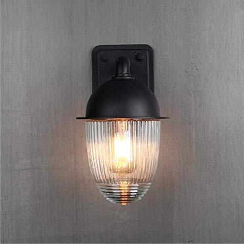 Mkj wandlampen hallampen spiegel lampen vooraan ganglamp retro wandlampen glazen bol Groot