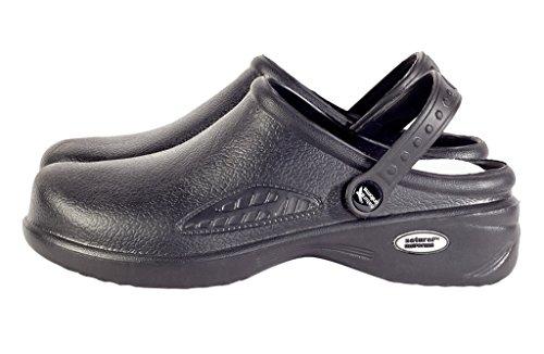 Natural Uniforms - Women's Lightweight Nurse Shoes/Nursing Clogs 8 B(m) US Black