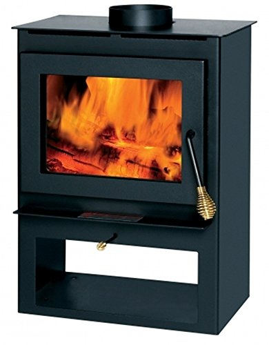 Summers Heat 50-SVL17 Wood Burning Stove With Blower Window 8,00-1,200...