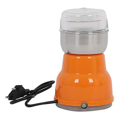 Bouder Elektrische Kaffeemühle, 150 W Multifunktions-Zerkleinerungsmaschine, Klingen aus Edelstahl, Kaffee- und Gewürzmühle, geräuscharme Getreidemühle Lebensmittelgewürzmühle für Saatbohnennuss