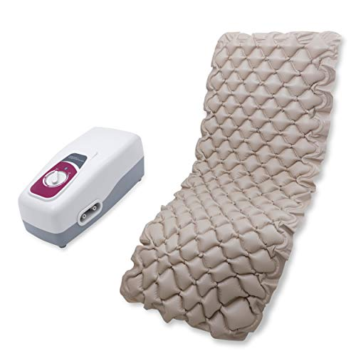 Romsons Anti-Decubitus Air Pump and Bubble Mattress for Prevention of Sorenil Bed Sore and Pressure Sores (Beige)