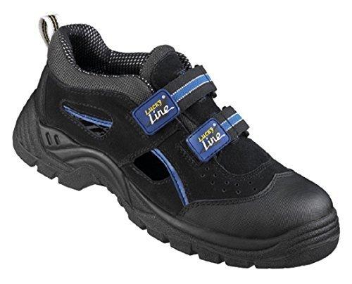 Lucky Line Arbeitsschuhe Sandalen Sicherheitsschuhe S1 Schuhgröße 38