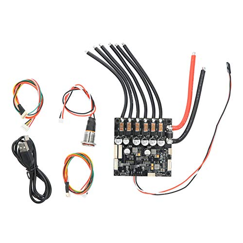 Controlador de velocidad eléctrico de Motor sin escobillas Walfront ESC DIY Control...