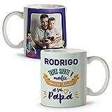 LolaPix Tazas Personalizadas. Regalo Personalizado. Día del Padre. Varios diseños. Papá Suerte
