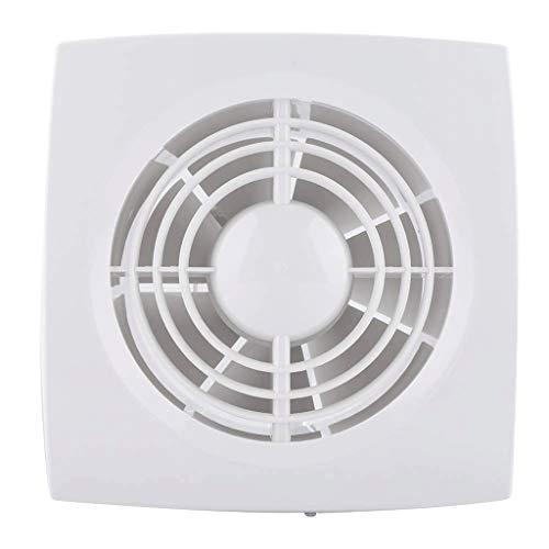 no-logo WJDDJ Ventilador de ventilación, Techo Blanco Cuadrado o Extractor de Pared