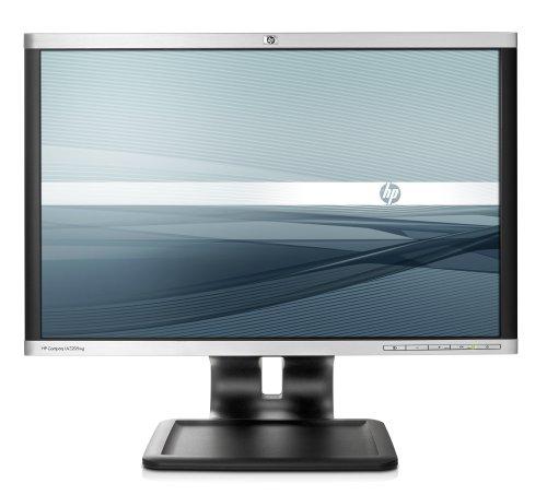 HP LA2205wg 55,9 cm (22 Zoll) Widescreen TFT Monitor (VGA,DVI, Kontrastverhältnis 1000:1, Reaktionszeit 5ms) schwarz/Silber