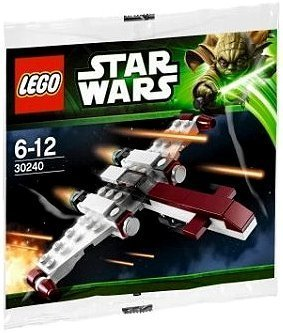 Lego Star Wars 30240 Z-95 Headhunter [Bagged] by LEGO TOY (manual en inglés)