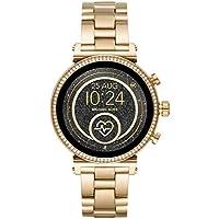 Michael Kors Smartwatch Pantalla táctil para Mujer de Connected con Correa en Acero Inoxidable MKT5062