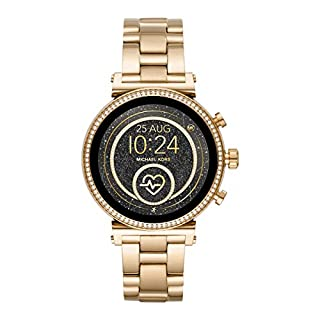 Michael Kors Womens Analogue-Digital Watch with Stainless Steel Strap MKT5062 (B07QDVT3WS) | Amazon price tracker / tracking, Amazon price history charts, Amazon price watches, Amazon price drop alerts
