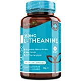 L-teanina 350mg - 120 capsule vegane - Scorta per 4 mesi - Capsule di teanina L ad alta...