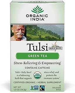 organic tulsi green tea benefits