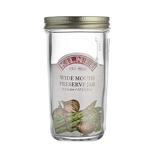 Kilner Wide Mouth Preserve Jar 0.5 Litre