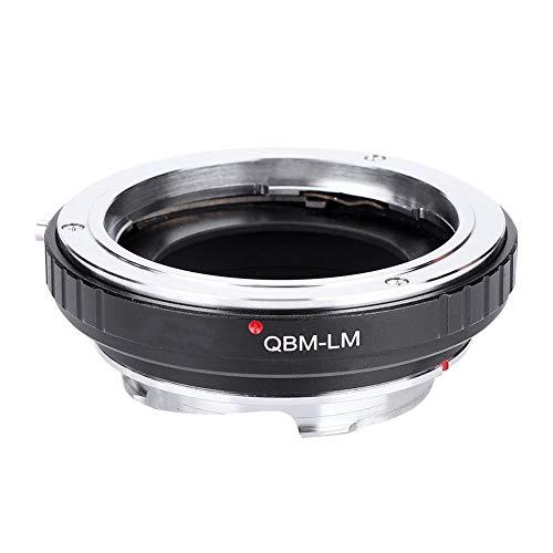 レンズマウントアダプターリング、アルミニウム合金QBM-LMカメラマウントコンバーターRollei QBMレンズ用、ライカMカメラ用TECHART LM-EA7用