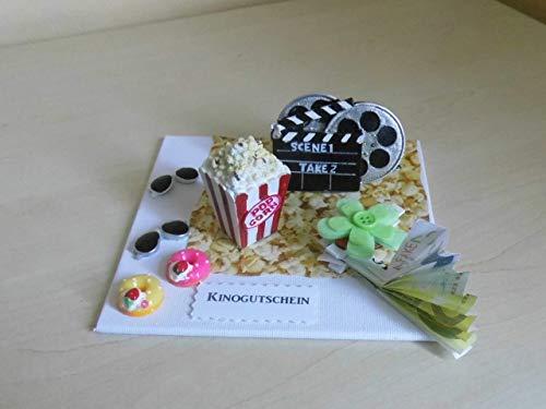 Geldgeschenk Gutschein für Kino Filmeabend Filmabo