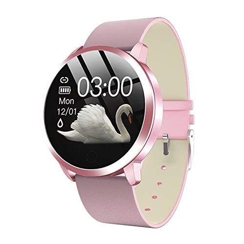 Nuevo Reloj Inteligente Q8, Moda para Hombres Y Mujeres Resistentes A Prueba De Agua Rastreador De Deportes Brazalete Smart Watch Dispositivo Portátil para Android iOS,M