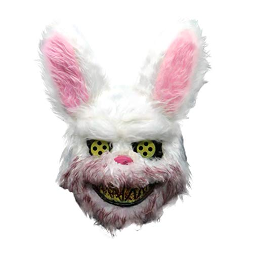 Weesey Böse blutige Kaninchen Maske Halloween Horror Masken Maskerade Party Cosplay Maske knifflige Maske