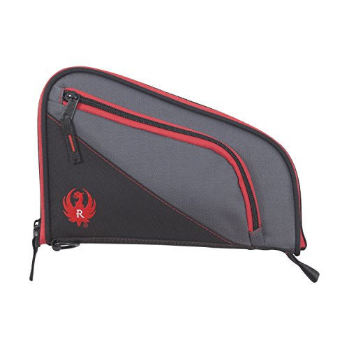 Allen Company Ruger Tucson Handgun Case, Black/Gray/Red, 8 (27408)