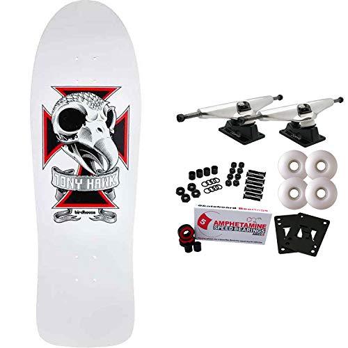 "Birdhouse Skateboard Complete Tony Hawk Skull 2 10.25"""