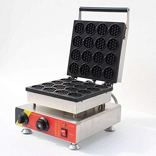 Máquina para Hacer gofres eléctrica de 1500 W con Placas antiadherentes de Control de Temperatura y Tiempo Limpieza por Calentamiento de Doble Cara y Almacenamiento para gofres paninis ha